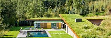 100 House Earth Greenroofed Colorado Home Is Buried Into The Earth To Save Energy