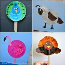 10 Awesome Cupcake Liner Bird Crafts Summer Kid