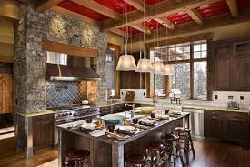 Image Of Contemporary Rustic Interior Design For Kitchen
