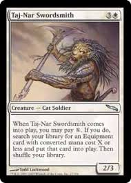 Cat Deck Mtg Goldfish by Upgrading C14 White Swords And Cats