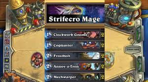hearthstone deck list mech mage mage theology gaming