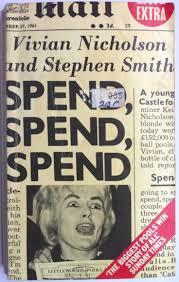 Kitchen Sink Drama The Smiths by Bookride Vivian Nicholson Spend Spend Spend