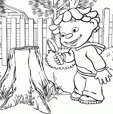 Science Kid Coloring Page Inside Sid The Pages