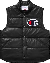 supreme supreme champion puffy vest