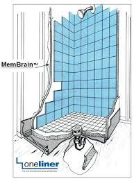 how to do a tile shower floor mortar floor mud shower pan diagram