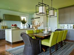 Very Impressive White Green Dining Room Ideas