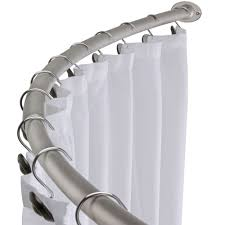 Bendable Curtain Track Bq by Articles With Shower Curtain Rail Curved B U0026q Tag Shower Curtain