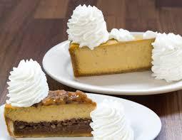 Pumpkin Cheesecake Layer Pie Recipe by The Cheesecake Factory Pumpkin Cheesecake Popsugar Food