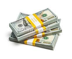Bundles 100 Us Dollars 2013 Edition Banknotes Stock