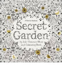 Secret Garden Adult Colouring Book Interactive Activity