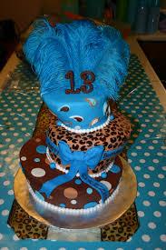 13th birthday cakes