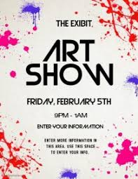 ART SHOW Craft Fair Poster