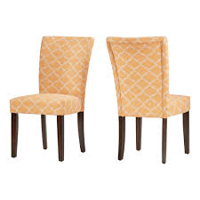 100 Side Dining Chairs Product Quinby Chair Set Of 2 Inspire Q Yellow