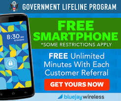 Free Smartphone from BlueJay Wireless Select States at Totally