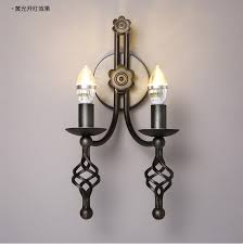 buy wrought iron candle wall sconces and get free shipping on