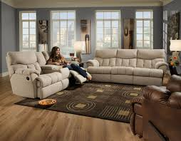 Southern Motion Reclining Furniture by Southern Motion Re Fueler 3 Pc Dual Reclining Console Sofa