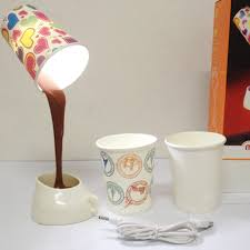 Home DIY Coffee Cup LED Down Night Lamp USB Battery Pouring Table Light For Study Room Bedroom Decoration In Desk Lamps From Lights Lighting