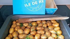 comment cuisiner les pommes de terre de noirmoutier mariatotal pommes grenailles rôties