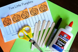 Printable Pumpkin Books For Preschoolers five little pumpkins free printable book and puppet show