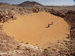 Kamil Crater In Southwestern Egypt Discovered 2008 From Google Earth Images This Meteorite Is One Of The Youngest On Size