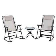 Kjøp Outsunny 3 Pieces Rocker Set Bistro Patio Garden ... Fniture Cute And Trendy Recling Lawn Chair New Design Garden Line Glider Game Rocking Buy Chairwood Chairglider Product On Alibacom Blue And White Striped Folding Best Chairs Irvington Swivel Recliner In Rock Stock247236 South Dakota Fire Chat 2pack Porch Blazing Needles Spun Poly Outdoor Cushion 20 X 43 Gci Freestyle Rocker Camping Aviva With Micro Suede Hi Back Kauffman Fascating