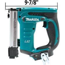 Makita Uk Production Tools by Makita Xts01z 18v Lxt Crown Stapler Amazon Co Uk Diy U0026 Tools