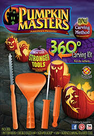 Pumpkin Masters Carving Patterns by Amazon Com Pumpkin Masters 360 Degree Carving Kit Halloween New