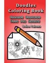 Doodles Coloring Book Calming For Adults
