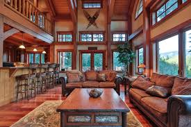 Harmonious Mountain Style House Plans by Timber Frame Home Plans The Big Chief Mountain Lodge New