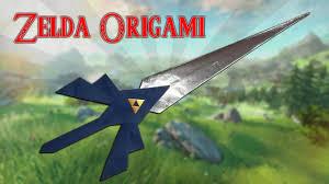 triforce l diy origami l épée de link diy origami