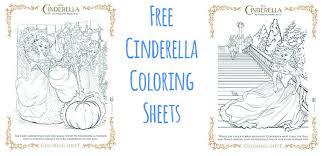 Free Cinderella Coloring Sheets CinderellaEvent