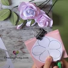 Step By Instructions To Make Paper Roses