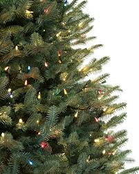 Black Slim Christmas Tree Pre Lit by Bh Balsam Fir Flip Tree Balsam Hill