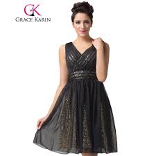 popular knee length black special occasion dress buy cheap knee