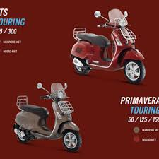GTS TOURING 125 300 PRIMAVERA 50 150 Red Brown