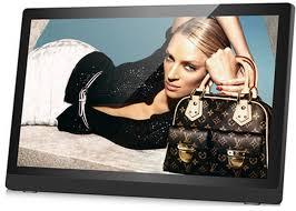 large écran cadre numérique de photo de 20 pouces avec la carte de