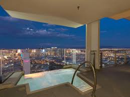 100 Palms Place Hotel And Spa At The Palms Las Vegas Penthouse Hanging Jacuzzi On 57th Floor Travel
