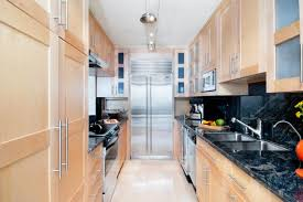 kitchen galley kitchen track lighting over small kitchen with