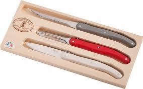 coffret couteau cuisine 3 couteaux de cuisine laguiole jean dubost gamme altitude
