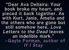 Love Letters to the Dead by Ava Dellaira Fierce Reads
