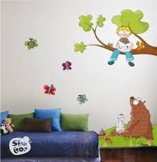 room wall sticker interiors design