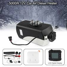 100 Truck Heater 12V 5KW Diesel Fuel Air LCD Monitor Car Heating W