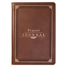 Prayer Journal Brown LuxLeather