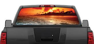 Beach Sunset #4 Ocean Rear Window Decal Graphic Truck SUV Van | EBay How To Install American Flag Truck Back Window Decal Sticker Truck Rear Window Black White Distressed Vinyl Design Your Own Rear Graphics Arts Window Graphic Vehicle Decals Compare Prices At Nextag Toyota Tacoma 2016 Importequipment Tropical Paradise Wrap Tailgate Kit Ebay New York Jets 35 X 4 Windshield Decal Car Nfl Custom Logo Maker Many Is Too True North Show Off Stickers Page 50 Ford F150 Forum Your Rear Stickerdecal 2015present Trucks 5 Funny Cummins Trucks