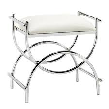 Vanity Chair With Back And Wheels by Vanity Chairs Amazon Com