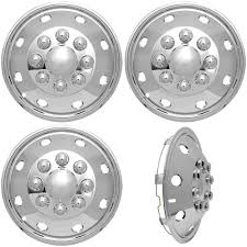 Amazon.com: 4pc Full Set Of 16 Wheel Simulators For 8 Lug 4 Hole For ... Method Race Wheels Offroad Dayton For American Truck Simulator Blog How To Install Premium Quality Wheel Simulators On Your 2017 Top Selling High Japanese Made In 165 Chrome Rv Motorhome Dual Rim Hub Covers 175 Inch Stainless Steel Cover Chrome Alcoa Rim Pack V1 Standalone Mod Mod Ats Realwheels Accsories Catalog Semi Gold Edition Excalibur Wheels With Spikes For Scania Ets2 Mods Euro Truck Simulator 2
