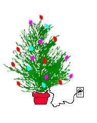 Christmas Trees Animated Graphics