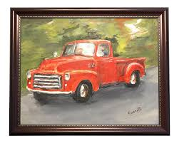 Old GMC Truck Oil Painting | Chairish Custom Paint On Truck Vehicles Contractor Talk Colorful Indian Truck Pating On Happy Diwali Card For Festival Large Truck Pating By Tom Brown Original Art By Tom The Old Blue Farm Pating Photograph Edward Fielding Randy Saffle In The Field Plein Air Adventures My Part 1 Buildings Are Cool Semi All Pro Body Shop Us Forest Service Tribute Only 450 Myrideismecom Tim Judge Oil Autos Pinterest Rawalpindi March 22 An Artist A