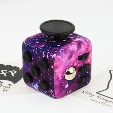 SFP Fidget Cube Cosmos Free Bag