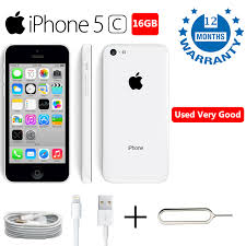 Apple iPhone 5C 16GB White Unlocked Smartphone Used Very Good Best